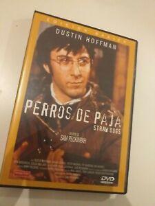 Dvd-PERROS-DE-PAJA-con-dustin-hoffman-COLECCIONISTAS