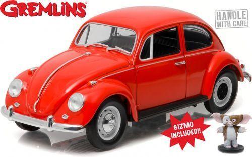 VW Beetle 1984 film Gremlins Gizmo con personaggio 1 18 verdelight