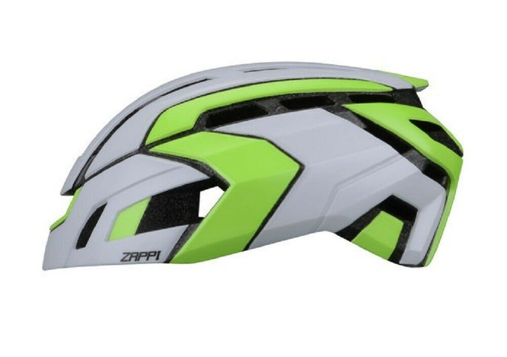 NOW ZAPPI Bike Cycling Helmet - Aerodynamic  Bicycle White Neon Green S M  save 60% discount and fast shipping worldwide