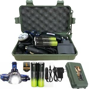 Zoom-90000LM-Rechargeable-T6-LED-Headlamp-18650-Headlight-Flashlight-Head-Torch
