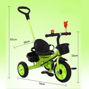4in1-Baby-Toddler-Walker-Kids-Trike-Tricycle-Bike-Bicycle-3-Wheels-Push-AU