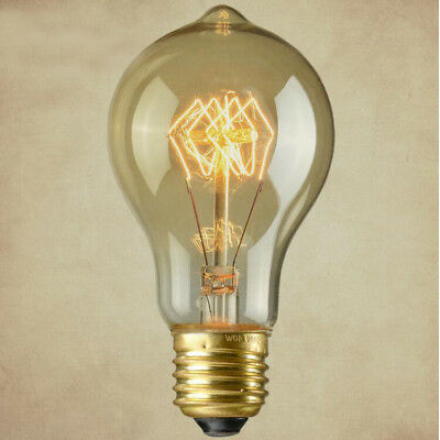 E27 B22 Dimmable Vintage Lamp Industrial Filament Edison Light Bulb 40W 60W 220V