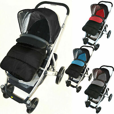 Footmuff//Cosy Toes Compatible with Uppababy G-Luxe Pushchair Dolphin Grey