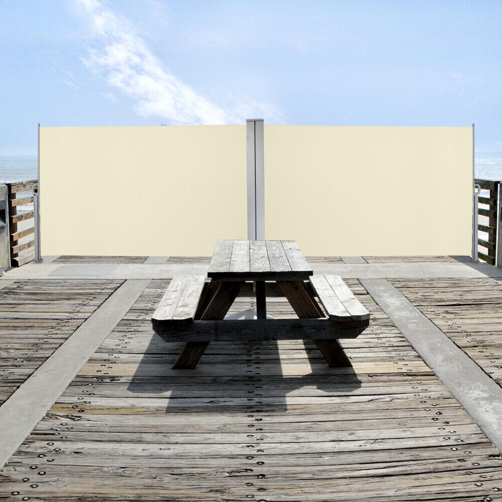 160x600cm seitenmarkise toldo privacidad projoección solar cortavientos terraza Alu