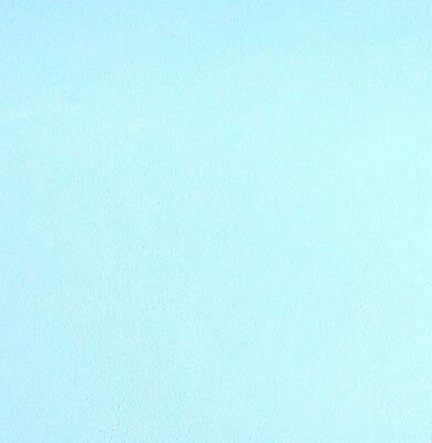 Turquoise Light Cyan Blue Plain Textured Vinyl Wallpaper