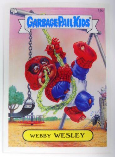2004 Topps Garbage Pail Kids Series 2 Trading Card #19b-Webby Wesley