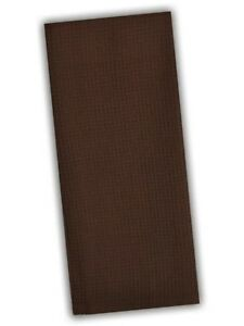 Details About Set Of 2 Dark Chocolate Brown Waffle Weave 100% Cotton  Kitchen Dish Towels