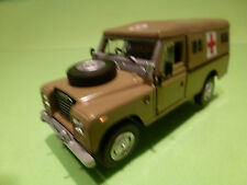 HONGWELL LAND ROVER SERIES III 109 - AMBULANCE MILITARY ARMY 1:43 - EXCELLENT