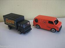 Lufthansa Crew Van Orange Colour Corgi Mars Truck Good Clean Played with Cond.