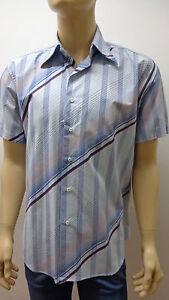 Outlet -50% 32 Men's Shirts Chemise Shirt 100% Cotton 3300010029