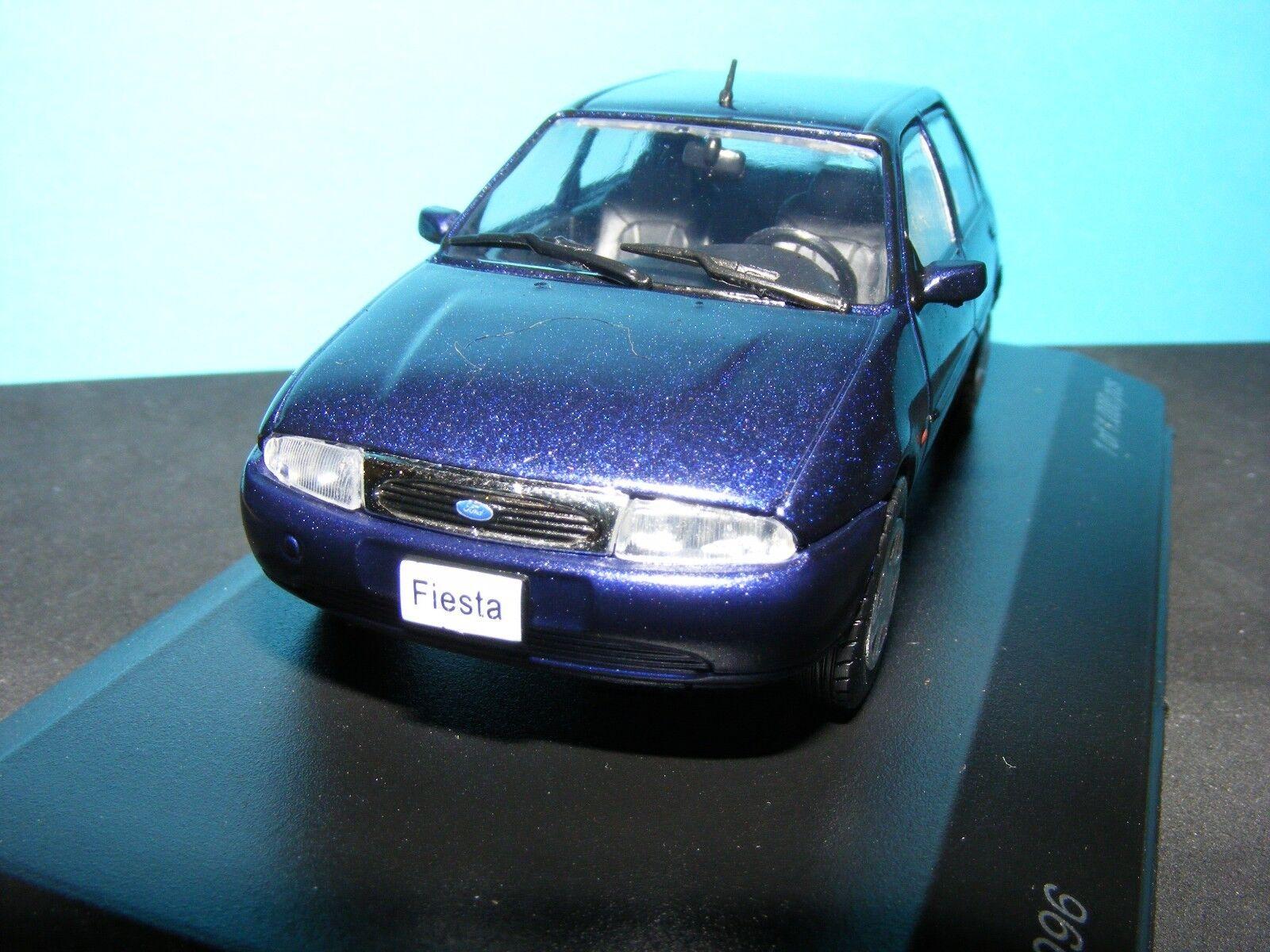 Ford Fiesta 5 door  1996 in  Met. bluee  Whitebox Product in 1 43rd. Scale