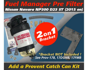 Fuel-Manager-Pre-Filter-Kit-for-Nissan-Navara-2015-on-NP300-2-3L