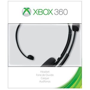 Microsoft-Xbox-360-Headset-Black-With-Noise-cancelling-Headsets-NEW