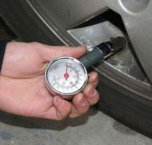 Dial Tire Tyre Air Pressure Gauge Tester Car Bike Truck Bus Manometer Motorcycle