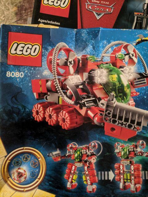 Lego #8080 Atlantis Undersea Explorer  New /& Sealed 364 pieces Transforms!