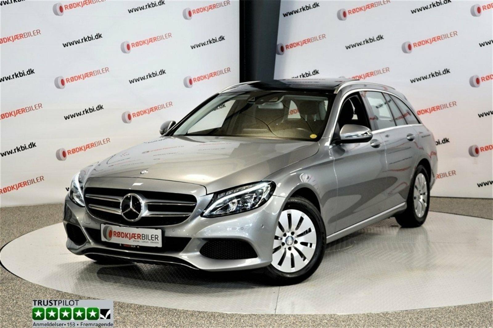 Mercedes C220 d 2,2 Avantgarde stc. aut. 5d - 389.900 kr.