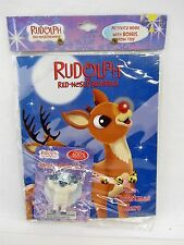 Rudolph the Red Nosed Reindeer Activity Book w/ Grow BUMBLE 600% in water