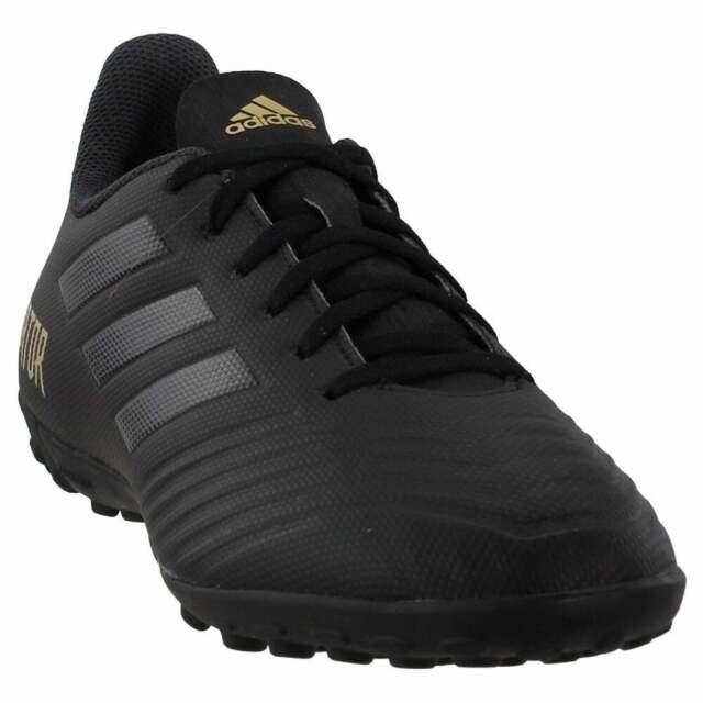 adidas Predator 19.4 Turf  Casual Soccer  Cleats Black Mens - Size 8 D