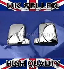 FORD TRANSIT CONNECT ABS CHROME WING MIRROR COVERS 2002-2009