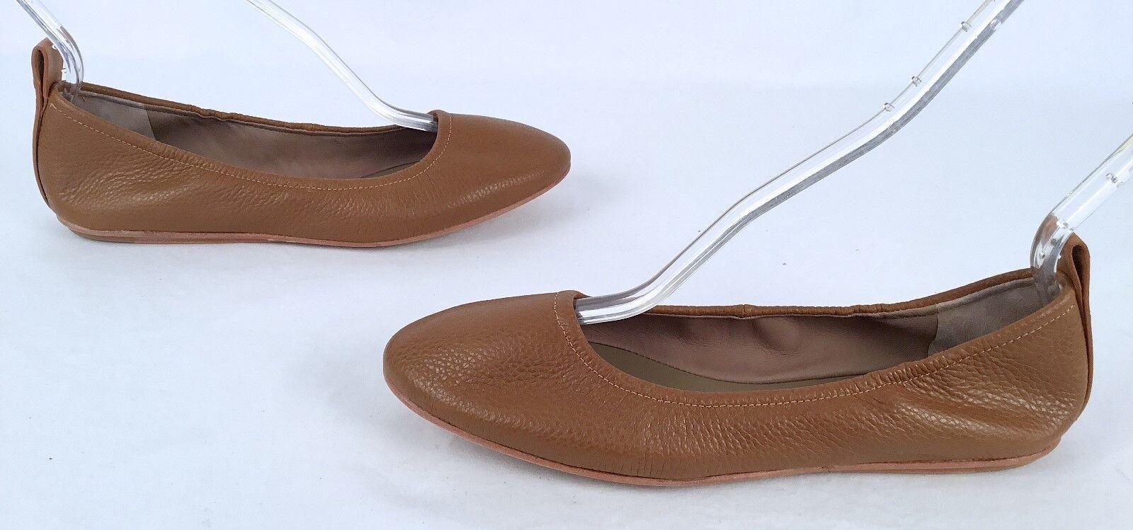 NUOVA Mercedes  Castillo'Carola'-Ballet Flats - Tan -Dimensione US 8.5  EU 38.5 - 250 -(P51)  al prezzo più basso
