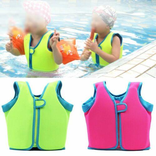 Kids Children Sports Swimming Floating Swim Aid Vest Buoyancy Safety Life Jacket