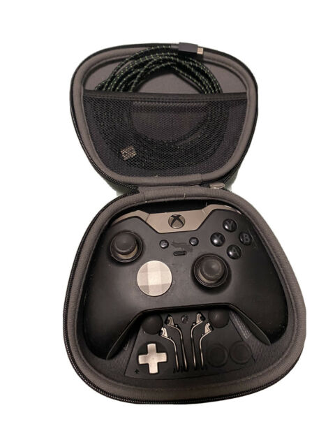Microsoft Xbox One Elite Series 1 Wireless Controller Gamepad - Black EUC