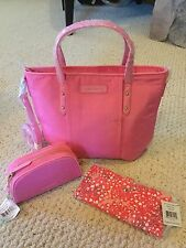ce98c4d83358 With Tags Vera Bradley Preppy Poly Wallet Toast SRP SHPG for sale ...