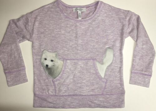 Variety NEW JESSICA SIMPSON Girl/'s Cute Animal Print Long Sleeve Knit