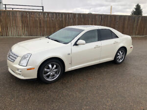 2006 Cadillac STS Beige Leather