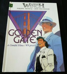 French-Comic-Book-Largo-Winch-Golden-Gate-Francq-Van-Hamme