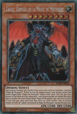 Presque comme neuf Secret Rare magique Mousquets Maître zakiel SPWA-de022 1st! Yugioh!!