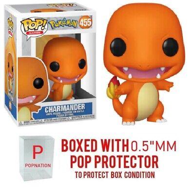 Funko POP Pokemon Charmander Vinyl Figure #455 w// Protector CASE PRE ORDER