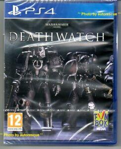 WARHAMMER-40-000-Deathwatch-034-NUOVO-amp-Sealed-039-PS4-quattro