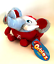 University-of-Alabama-Orbiez-Elephant-Football-Plush-by-Okoner-Licensed-Toy thumbnail 5