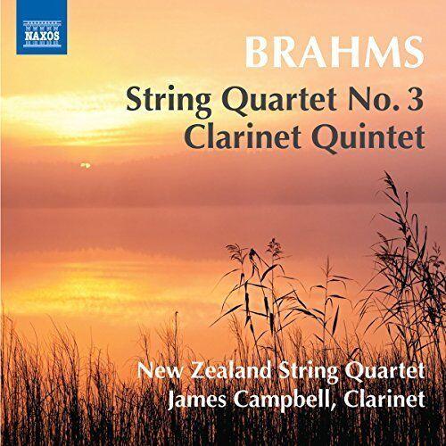BRAHMS / NEW ZEALAND STRING...-JOHANNES BRAHMS: STRING QUARTET NO 3 CLARI CD NEW