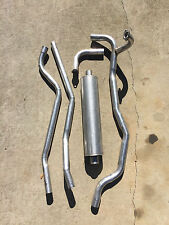 1948-1952 Ford F1 Truck Complete Stock Single Exhaust System for Flathead V8