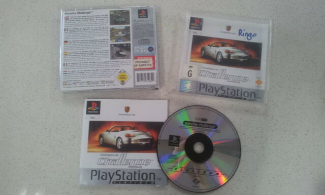 Porsche Challenge Sony PlayStation 1 PS1