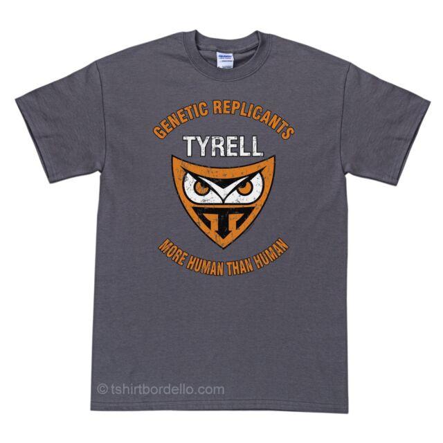 Tyrell Corp Replicant More Human Than Human T-Shirt S - 4XL