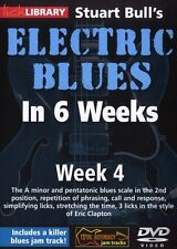 LICK LIBRARY Stuart Bull's ELECTRIC BLUES GUITAR In 6 WEEKS Eric Clapton DVD 4