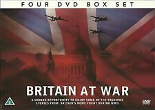 BRITAIN AT WAR - 4 DVD BOX SET - HOME FRONT BRITAIN & VICTORY IN EUROPE WW2 WW11