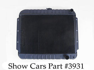 59 60 61 62 63 Chevy Impala Ss Bel Air 409 Looks Original Radiator 4 Row 4 Speed Ebay