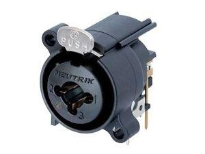 Circuito H : Neutrik ncj fa h combo cannon xlr e presa jack contatti circuito