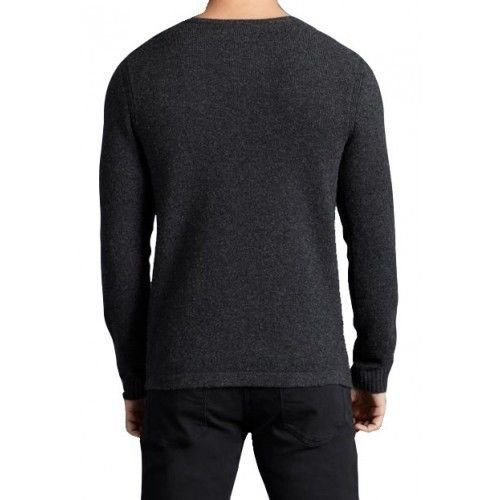 hombre Suéter jersey merino Star de lana de Varvatos gris merino gris oscuro Usa tipo para John rrxwAfn5YZ
