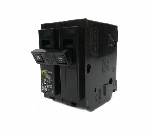 SQUARE D HOM230 30 AMP 2 POLE 240 VOLT CIRCUIT BREAKER TYPE HOM