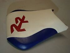 HONDA 2005/2006 CBR600RR CUSTOM  FRONT SEAT COVER WHITE/BLUE/RED VINYL