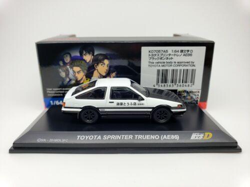 1:64 Kyosho initial d leyenda 3 Toyota Sprinter Trueno AE86 fujiwara tofu Takumi