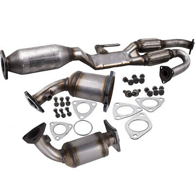 Set Fits 2003-2007 Nissan Murano 3.5L V6 Catalytic Converter Set Look