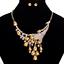 Fashion-Elegant-Women-Rhinestone-Crystal-Choker-Bib-Statement-Pendant-Necklace thumbnail 55