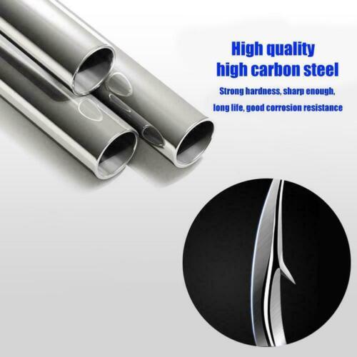 20pcs Super Sharped Forged Fishing Hooks High Carbon Steel New Fish carp Y6C6