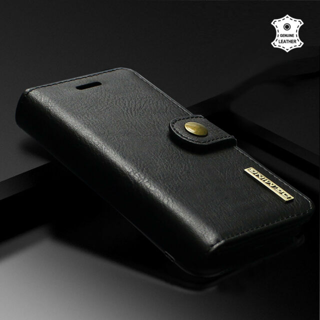 premium selection 4286e 05207 Genuine Leather Detachable 2 in 1 Case w/Magnetic fr Samsung Galaxy S8 / S8  Plus